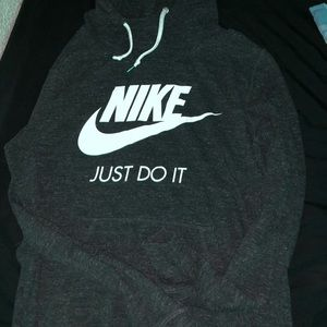 nike pullover with hood, very good quality.